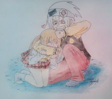 Soul and Maka 2 by Killjoy-Chidori