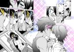 Malec First Kiss Manga Complete by xiannustudio