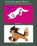Draw It Again: Thunder by Pokemonluvergirl2