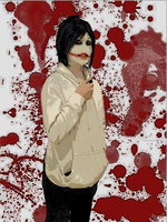 [Edited] Jeff the Killer Cosplay - Version 2 by Shadow-Industries