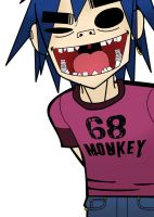 2D_Gorillaz_Color1 by Shimgu