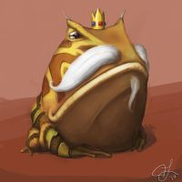King Frog by hammn