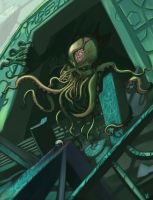 Cthulhu by Holydamned