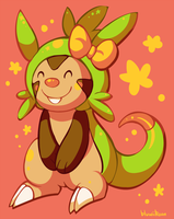 Chespin by Bluwiikoon