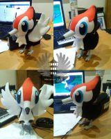 Pikipek Plush Pokemon - Life size by ArtesaniasIris
