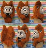 Golden Lion Tamarin Head by LobitaWorks