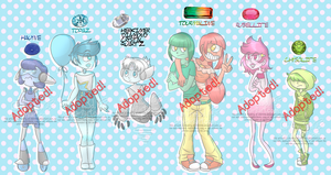 Gemsona Adoptables #2 [ Closed ] by Ch4rm3d