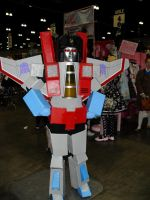 Starscream Cosplay 01 by Knightfourteen