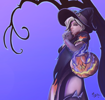 Mercy, Halloween Outfit by mgahn