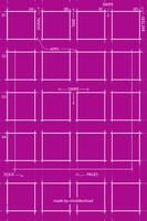 Pinkprint - Flat iOS7 Wallpaper by mtnbikerbrad