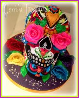 Skull For Celebration by gertygetsgangster