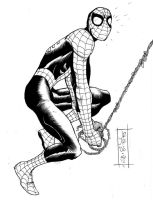 Spider Man by JOHN ROMITA JR by CRUCASE