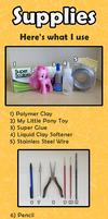 My Little Pony Custom Guide - Supplies by Amandkyo-Su