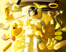 Where all is yellow by momijigirl
