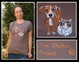 The Shelter Project t-shirt by MirachRavaia
