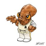 A is for Ackbar by joewight