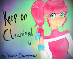 Keep on Cleaning! by Leafyloveer