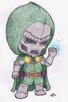 Little Doctor Doom by josh308