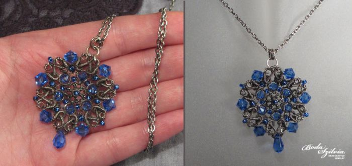 Lady of the lake necklace by bodaszilvia