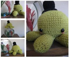 Amigurumi: Atticus the Octopus by BiZria