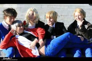 Cosplay APH Gakuen - AWESOME by 0-Aredhel-0