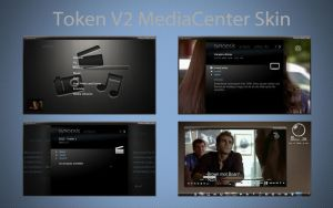 Token V2 MediaCenter Skin by Mr-Ragnarok