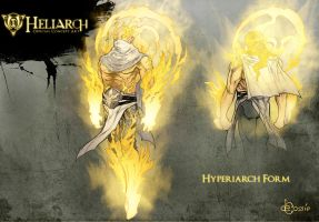 Concept - Heliarch Hyperiarch Form by AenTheArtist