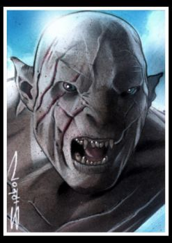 Azog the Defiler by RandySiplon