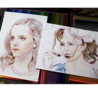 Emma Watson and Helena Carter (Wip) by Alena-Koshkar