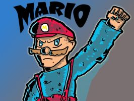 MARIO POWER by kinaato