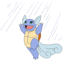 Wartortle used Rain Dance by Kainaa