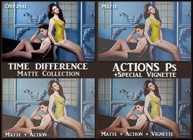 Time difference  ACTION Ps  by Tetelle-passion