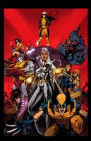 X-Men:1991 by E-Mann