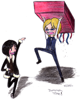 WHAT TIME IS IT? DURARARA TIME by shyBUTartistic