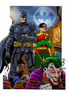 Batman and Robin by dikiminster