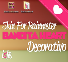 Skin For Rainmeter Bandita Decorativa by Isfe