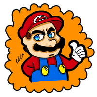 Thumbs Up Mario Part 2 by chelano