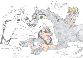 Kitara - I love you, daddy! by MortenEng21