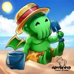 Little Chtulu Summer Edition (commission) by hotbento