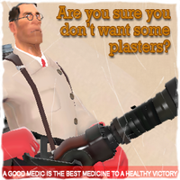 TF2 medic spray by RJD37