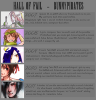 Hall of Fail : 2007-2011 by bunnypirates