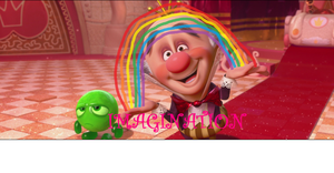 WIR Screencap #3: King Candy has IMAGINATION by 8BitStitchPunk