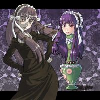 Gothic Ladypot by gamera1985
