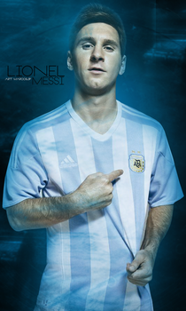 Lionel Messi Argentina | Wallpaper by MarcosJP