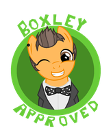 The Boxley Seal of Approval by Miserable-in-Orange