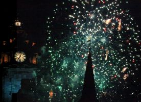 Hogmanay in Edinburgh by jmotes