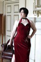 Ada Wong Cosplay - Deadly Serious by Frederica-La-Noir