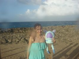 Gangu and me at Puerto Rico by Gubreez