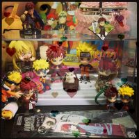 my Gaara toys: The NaruGaa series by lilacerise