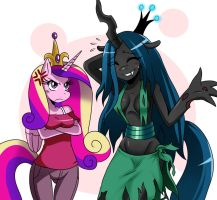 MLP: Cadence and Chrysalis by ss2sonic